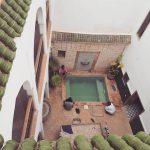 morocco, riad, marrakech, swimmingpool, architecture
