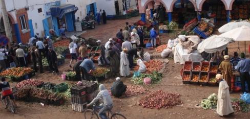 marokas kelionės turgus afrika
