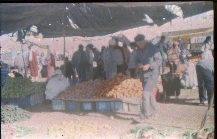 marokas sidi ifni turgus apelsinai