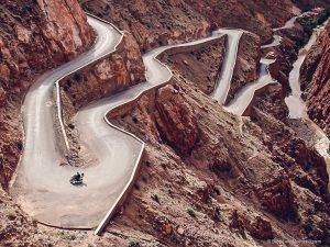tizin tichka pass morocco road