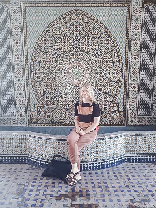 Ensemble-Artisanal morocco marrakech mosaic tales ceilings mosaic