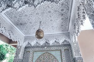 morocco marrakech mosaic tales ceilings mosaic