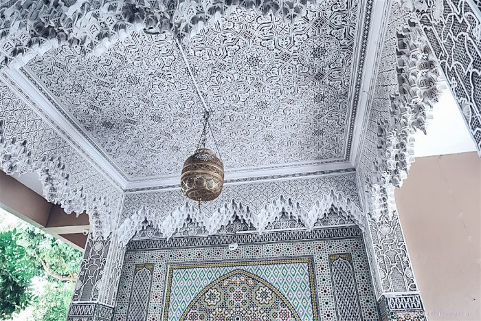 morocco marrakech mosaic tales ceilings mosaic