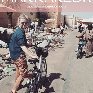 morocco blondie bicycle africa cycling