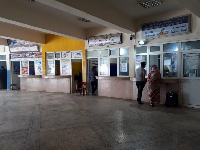 agadir morocco bus station travel
