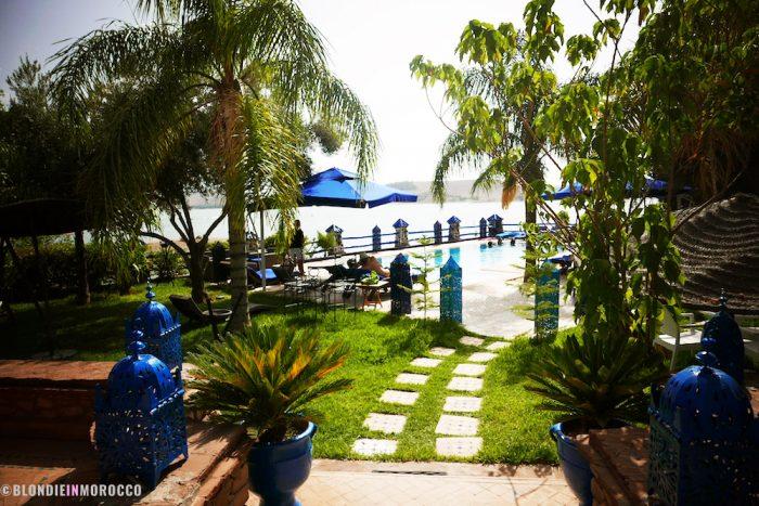 Lalla Takerkoust, hotel, swimmingpool