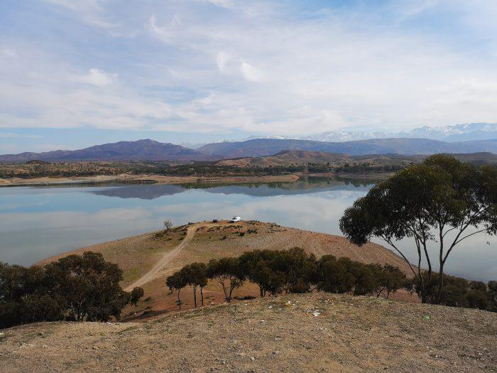 Lalla Takerkoust morocco lake
