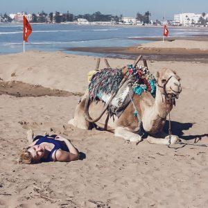 essaouira, morocco, camel, beach, girl, camel ride