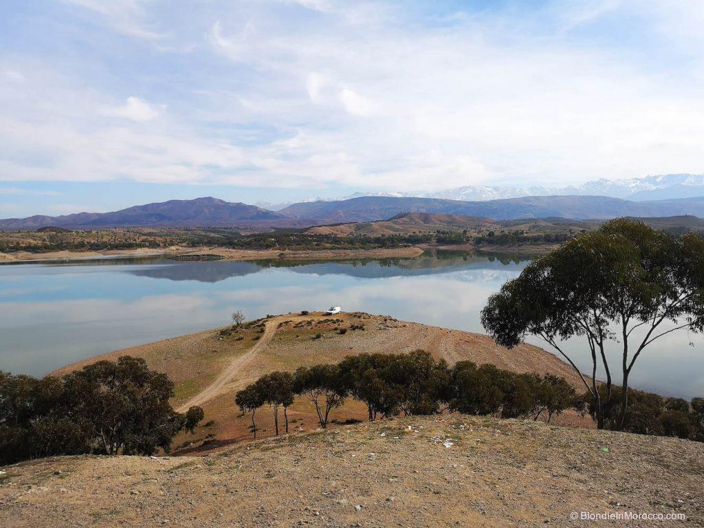 Lalla Takerkoust morocco lake dam