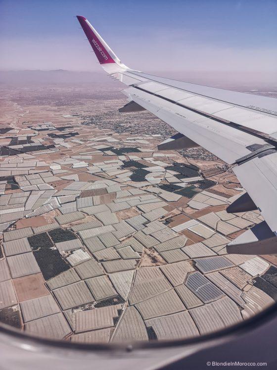 flight wizzair morocco sky