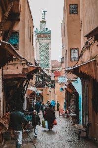 morocco street marrakech