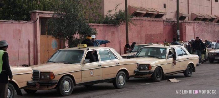 taxi morocco car