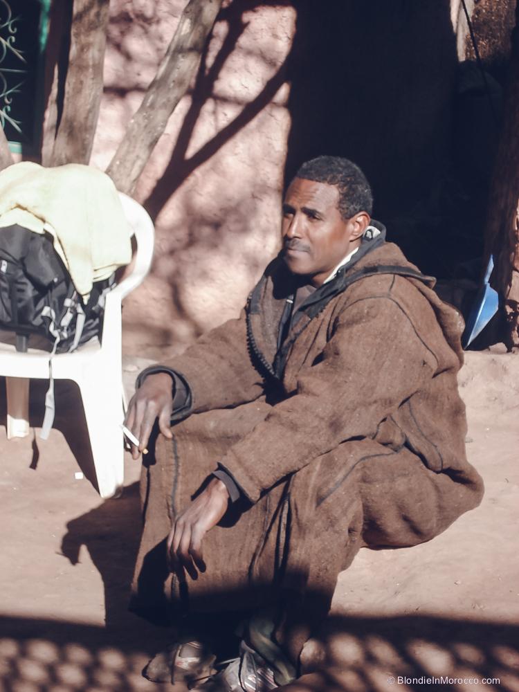 morocco man jilaba