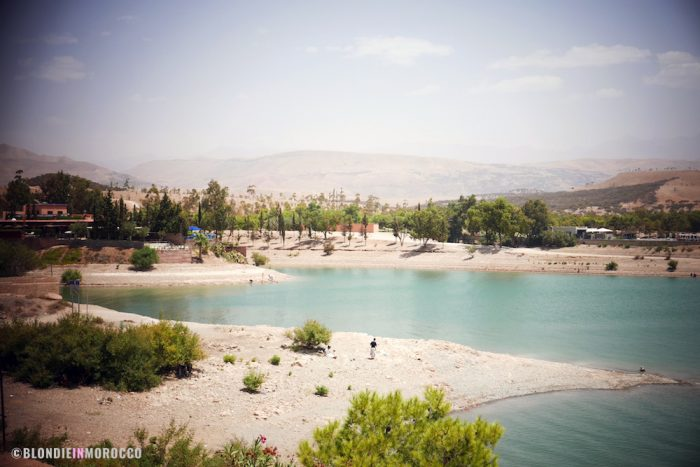 Lalla Takerkoust lake morocco