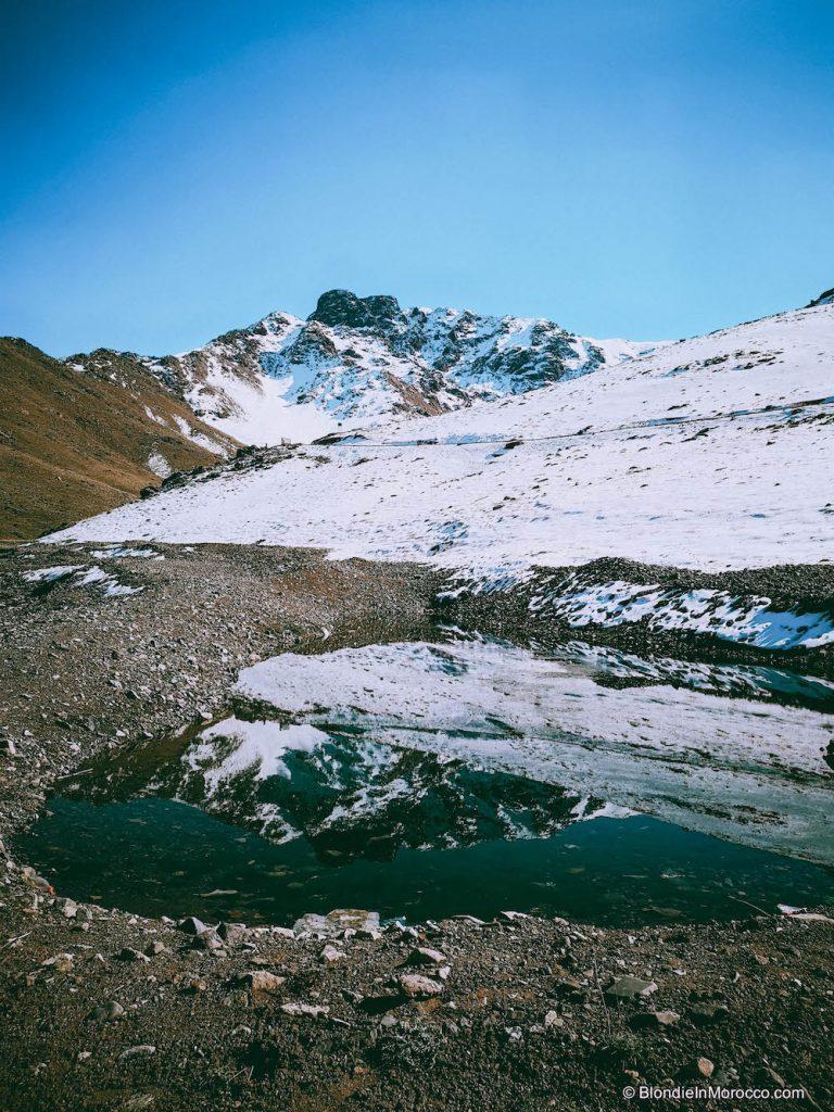 Oukaïmeden  morocco snow mountain ski
