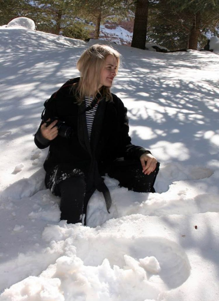 Yes, there is snow in Morocco