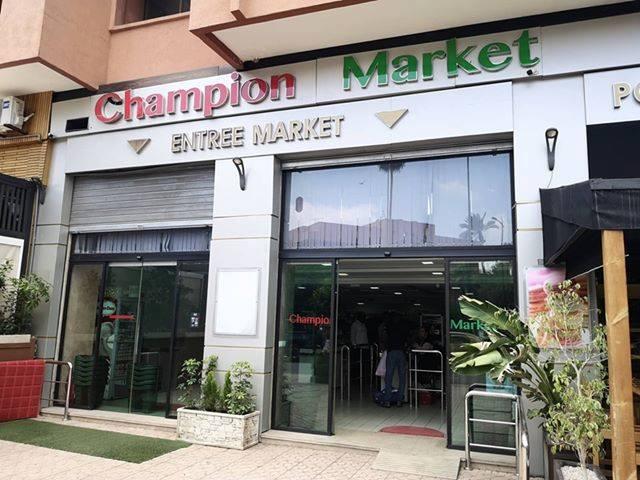 champion, supermarket, morocco, store