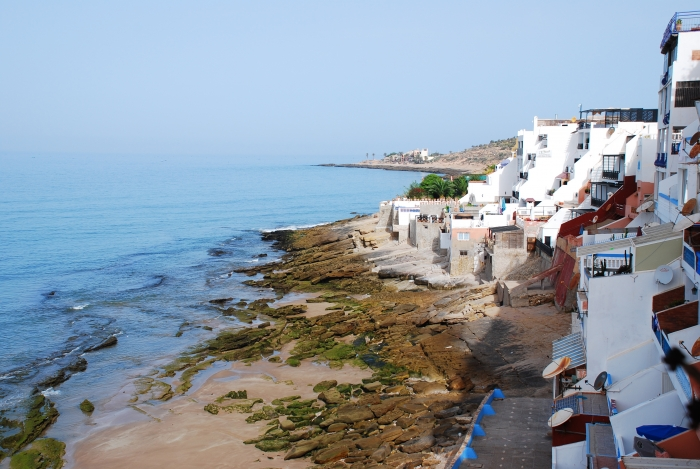 Taghazout, Morocco, beach, coast