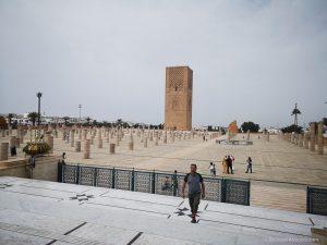 morocco rabat Mausoleum of Mohammed V