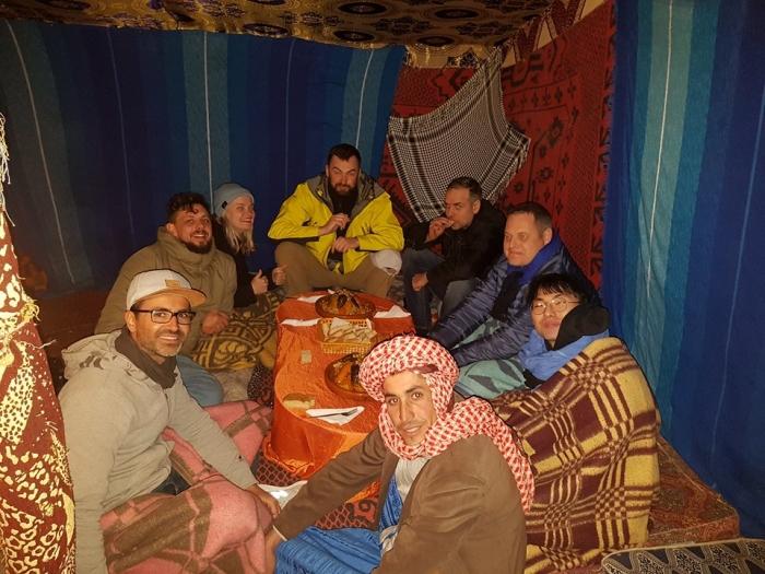 sahara desert morocco tent berbers