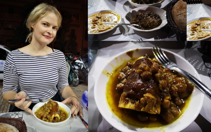 Kar3in, hargma, moroccan food, street food