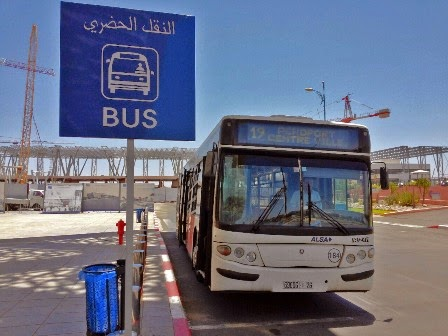marrakech airport bus to city center