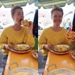 khlii, morocco, food, omelete, blonde
