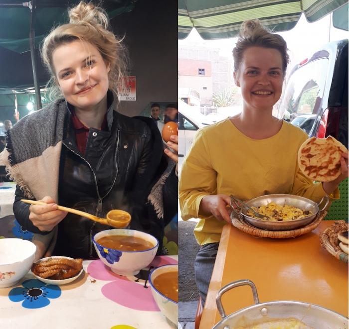 morocco street food breakfast