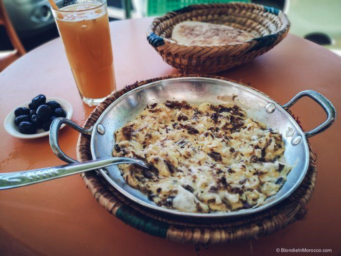 ometette khlea moroccan eggs breakfast food