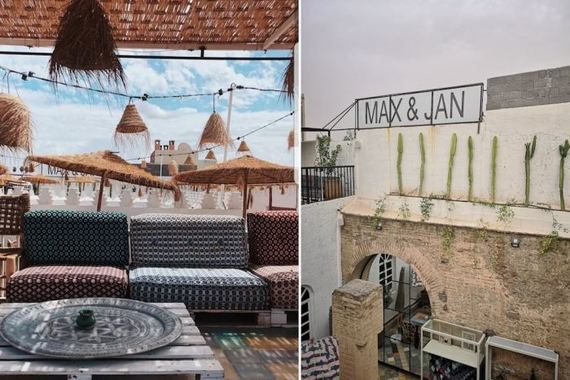 max and jan marrakech morocco restaurant concept store