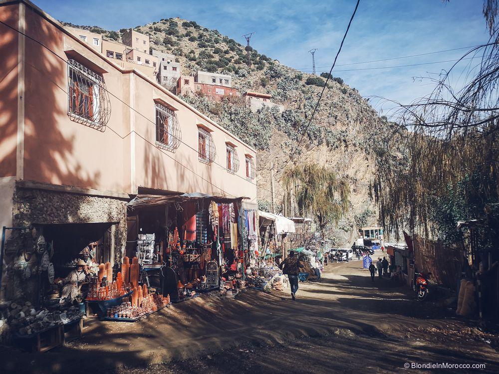 Setti Fatma, village, morocco, locals, street,