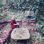 girl, ourika valley, couch,