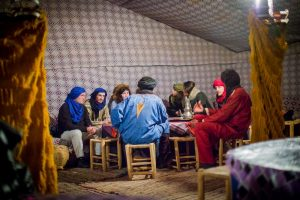 morocco, desert, camp, tent, dinner, people