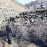 ourika valley, morocco, valley, blonde, girl, scenary, mountains, village