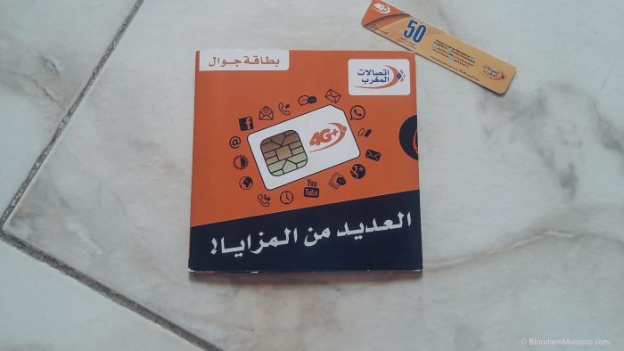 sim card morocco prepaid