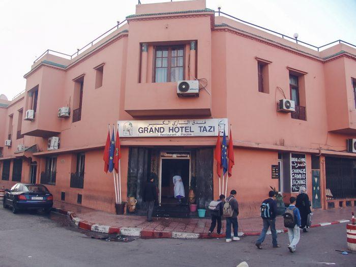 hotel marrakech tazi bar