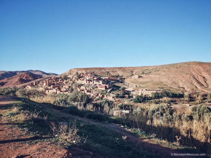 valley, Morocco, villages