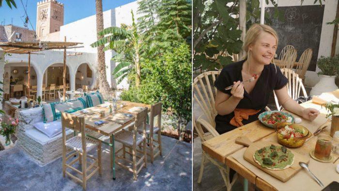 marrakech restaurants medina la familia