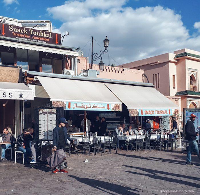 snack toubkal marrakech restaurant food