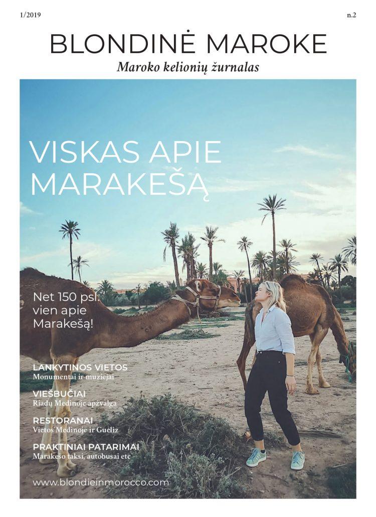 Skaityk mano parengtą e-žurnalą apie Marakešą! Net 158 psl.