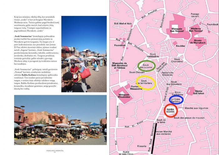 žurnalas apie Marakešą Marokas