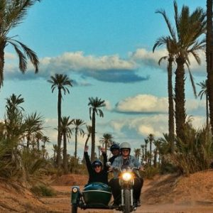 sidecars marrakech morocco