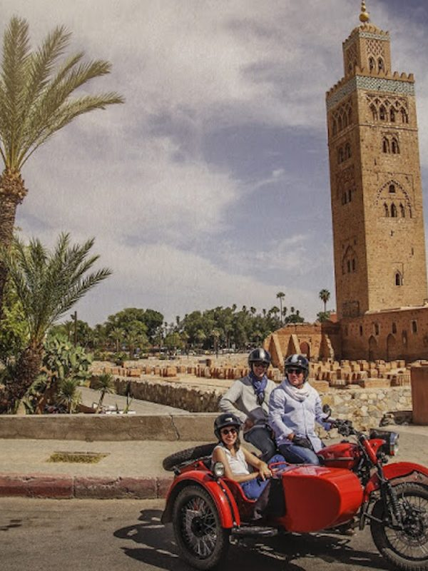 sidecars morocco vintage marrakech