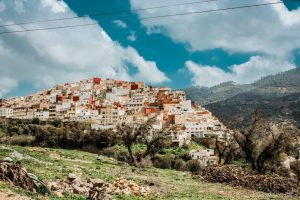 Moulay Idriss morocco town hill nature