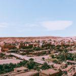 ait ben Haddou kasbah morocco bridge
