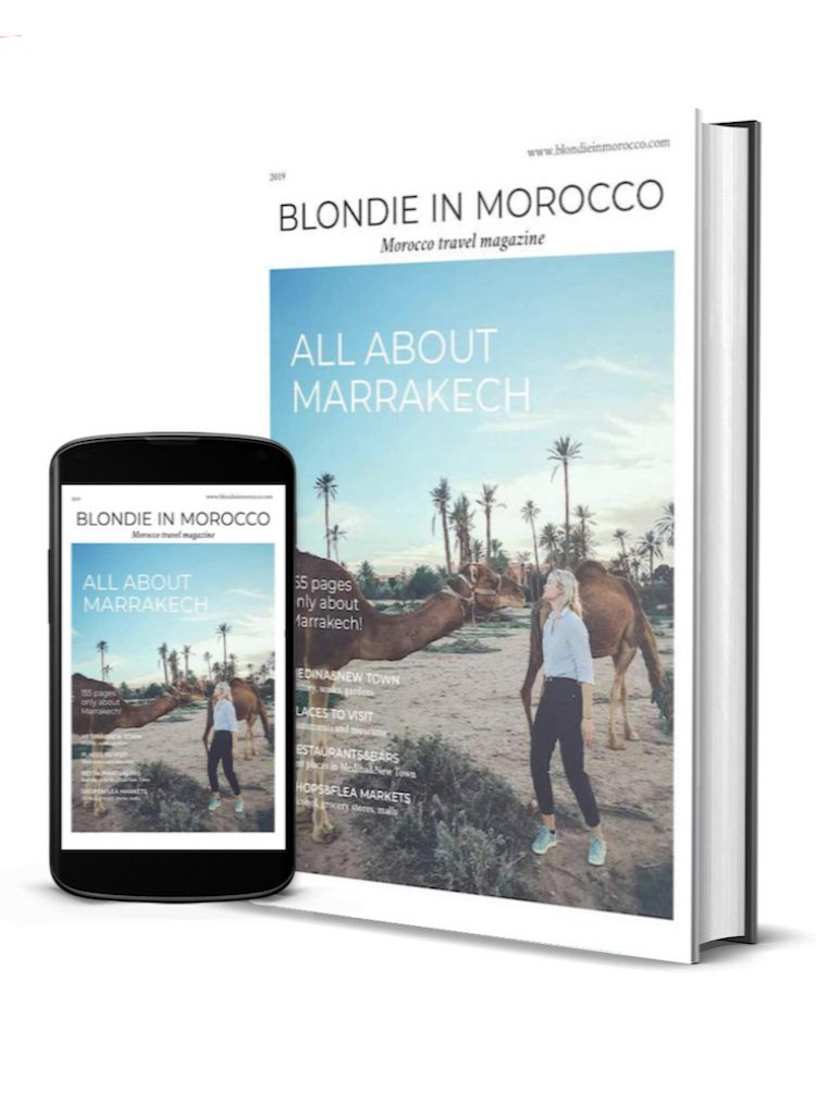 My 155 pages digital travel guide about Marrakech!
