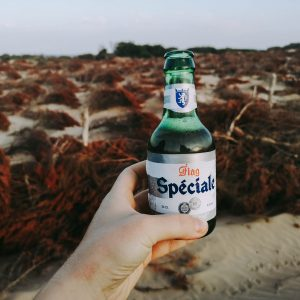 alcohol beer morocco speciale flag beach drink
