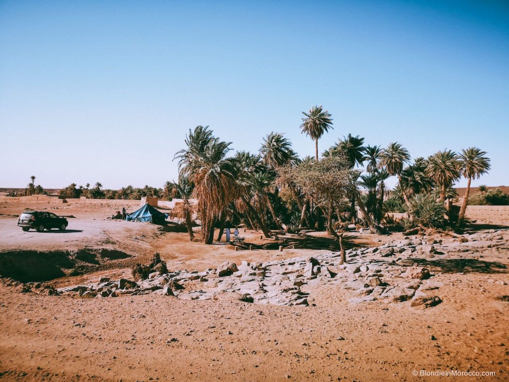erg chigaga desert morocco dunes sahara oasis
