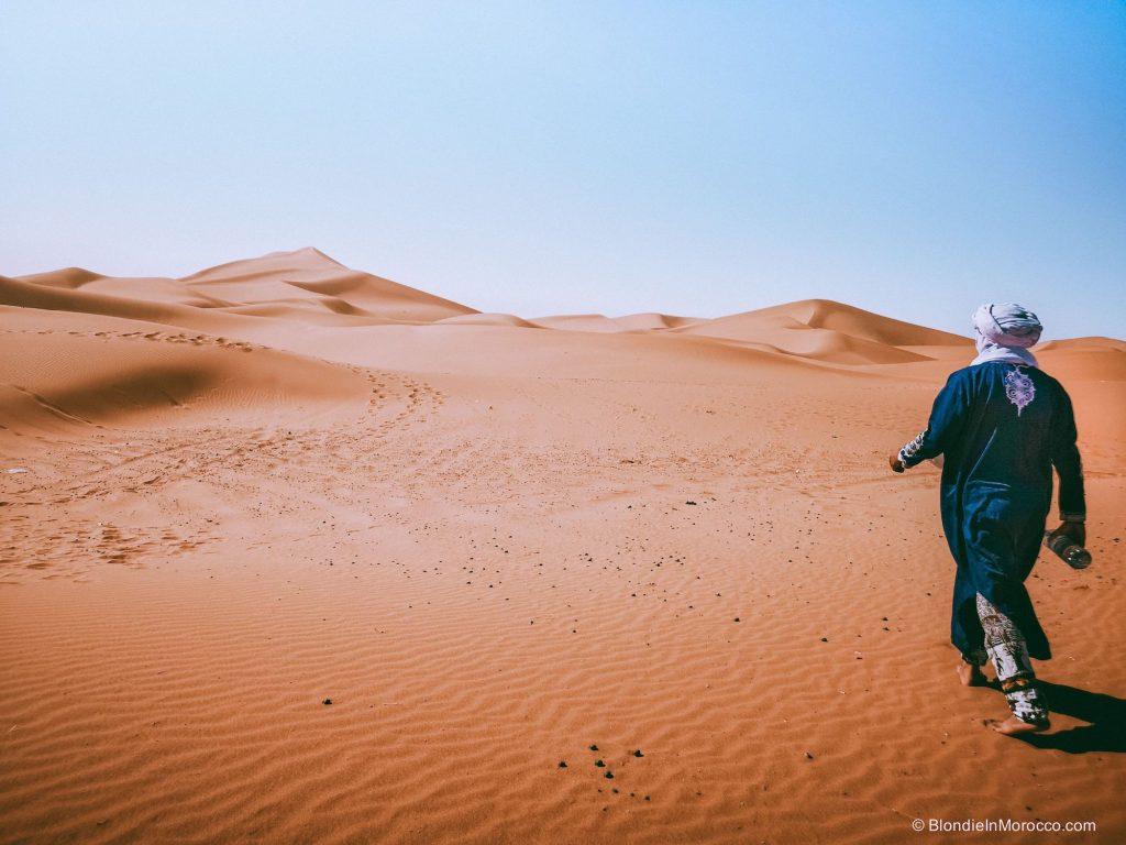 erg chigaga desert morocco dunes sahara nomad berber