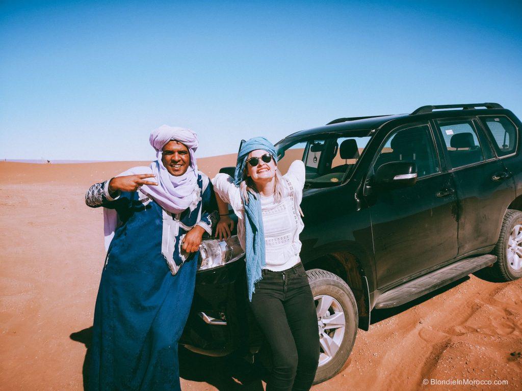 desert driver 4x4 car berber nomad morocco